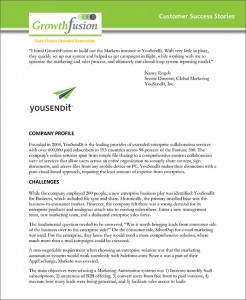 GrowthFusion - YouSendIt Systems Case Study